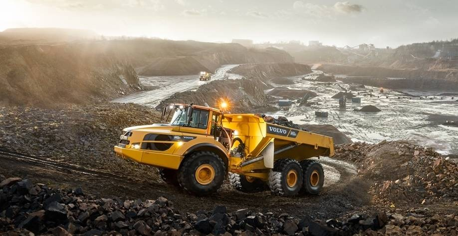 Photo tombereau Volvo A45GFS